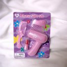 AMERICAN GIRL 18 INCH DOLLS-PINK PRINCESS PRETEND HAIR CARE SET-KANANI, MCKENNA, JULIE