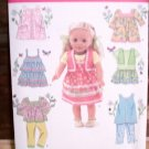 AMERICAN GIRL 18 INCH DOLL CLOTHES PATTERN-SIMPLICITY #2296