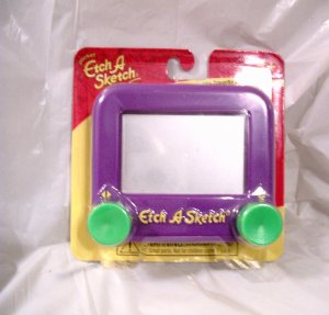 AMERICAN GIRL 18 INCH DOLLS-PURPLE ETCH A SKETCH