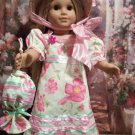 1812 STYLE DRESS FOR AMERICAN GIRL 18 INCH CAROLINE