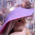 Lavender Beach Set for American Girl 18 inch dolls