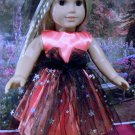HALLOWEEN PARTY DRESS FOR AMERICAN GIRL 18 INCH DOLLS
