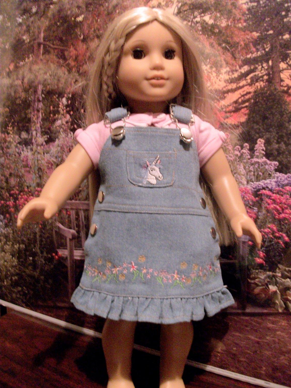 Unicorn Jumper set For American Girl 18 inch Dolls