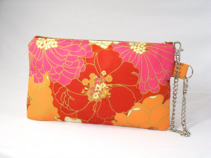 Blooming Clutch/Wristlet