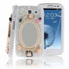 Handmade 3D Bling Back Case for Samsung Galaxy S3 III i9300
