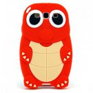 Turtle Silicone Back Case for Samsung Galaxy S III S3 I9300