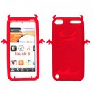 Cool Devil Style Silicone Skin Cover for iPod Touch 5