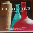 Christies British and Continental Glass