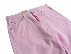Wholesale lot 60 pair per case  Ladies color jeans as low as $2.49 per pair