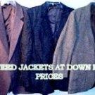 Wholesale  100% wool tweed jackets for as low as $3.49 each