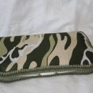 Green Camo - Boutique Style Diaper Travel  Wipes Case