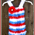 Red, White & Blue Romper 1-3yrs