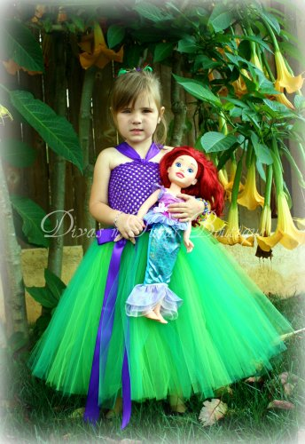 Part of Your World - Ariel Inspired Princess Dress