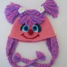 Sesame Street Inspired Abby Cadabby Hat -Crochet Baby Hat - for Baby or Toddler