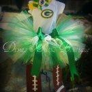 Green Bay Packers Fan Tutu Set