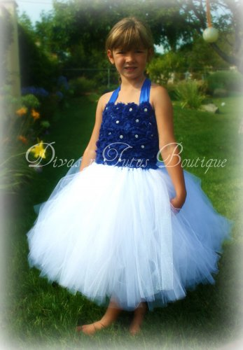 Royal Blue Princess Dress