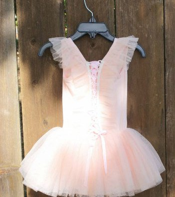 Peach Fairy Tutu Dress 3-4yrs