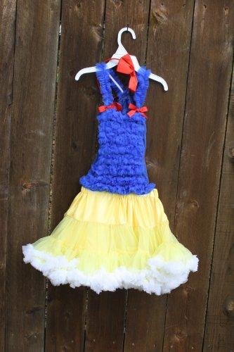 Disney Inspired SnowWhite Princess Petti Set 5-7yrs