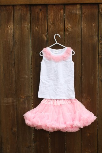 Light Pink Pettiskirt Set 4-6yrs