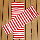 Red Stripes Leg/Arm Warmers