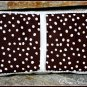 Brown Polka Dots - Boutique Style Diaper Wipes Case