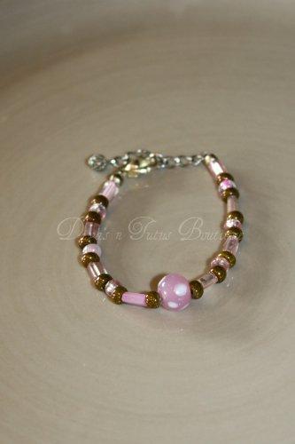 Brown & Pink Bracelet