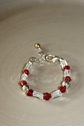 Red & White Bracelet