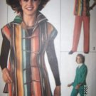 Vintage 1970s Simplicity 7614 Pattern Jiffy Unlined Jacket and Pants Size 16 Uncut