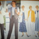 Butterick 4345 Pattern Jacket, Top,Vest, Jumper and Pants Size 12 14 16 Uncut