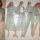 Butterick 5375 Todays Wardrobe Pattern Jacket, Top, Split Skirt and Pants Size 12 14 16 Uncut