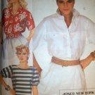 Jones of New York Set of Blouses, Top, McCalls 9079 Pattern, Size 14 Bust 36 Uncut