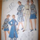 Vintage 1960s 6154 Butterick Pattern,  Dress or Tunic, Skirt, Shorts, Pants Size 12/34 Uncut