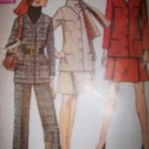 Vintage 1960s Simplicity 8401 Pattern Suit, Jacket, Skirt and Pants Size 12 Uncut