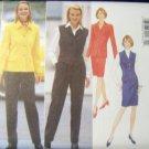 OOP Butterick Evan Picone 4744 Pattern Jacket, Vest, Skirt & Pants Size 6 -12, Bust 30.5 - 36, UNCUT