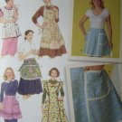 Simplicity Pattern 4282 Vintage 50's Style Aprons S M L NEW