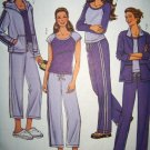 B 4083 Butterick Pattern, Misses Loungewear, Jacket, Tops & Pants Plus Size 16, 18, 20, 22, Uncut