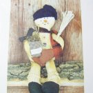 A Stitch in Time Charlie the Snowman Doll Pattern 20""