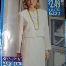 "OOP See & Sew Now 6327 Butterick Pattern Size B 16 18 20 22 24 Bust 38- 40""-42 - 44 - 46"" UNCUT"