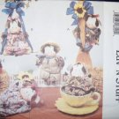Butterick 3219 Craft Pattern, Posies Moo-vable Cows Stuffed Animals, UNCUT, OOP, FF