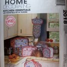 McCalls 2018 Home Decorations Kitchen Essentials Sewing Pattern, UNCUT