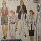 McCall's 4728 Pattern,  All About Jacket, Vest, Blouse, Skirt, Pants, Shorts size 14, UNCUT