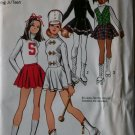 Simplicity 5111 Cheerleader, Skating, Majorette Costumes, Jr Girls Size 11/12 Bust 32, UNCUT