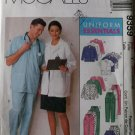 OOP Unisex Scrubs Uniform Essentials McCalls 9359 Pattern, Size S, M, L, Uncut
