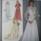 Rare OOP Simplicity 9755 Brides or Bridesmaids Lined Dress, Size 10, UNCUT