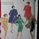 Easy Simplicity 7569 Pattern,  Misses  Petite Coat Dress Sz 10 12 14 16,  UNCUT