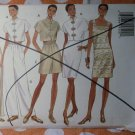OOP Fast & Easy Butterick 3504 Pattern Misses Dress Top Shorts Pants Sz 6 8 10 12 UNCUT