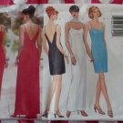 OOP Butterick 5541 Fast & Easy Classics Pattern, Misses Evening Dress & Scarf, Sz 12 14 16, UNCUT