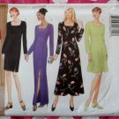 OOP Butterick 5304 Easy Classics Pattern, Misses Petite Dress Gown, Sz 14 16 18, UNCUT