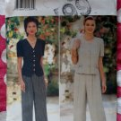 OOP Butterick 4004 Designer Donna Ricco Pattern, Misses Top Pants Sz 18 20 22, UNCUT