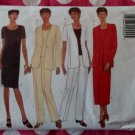 OOP Easy Butterick 5945 Pattern,  Misses Petite Jacket Dress Top Skirt Pants, Sz  8 1012, UNCUT